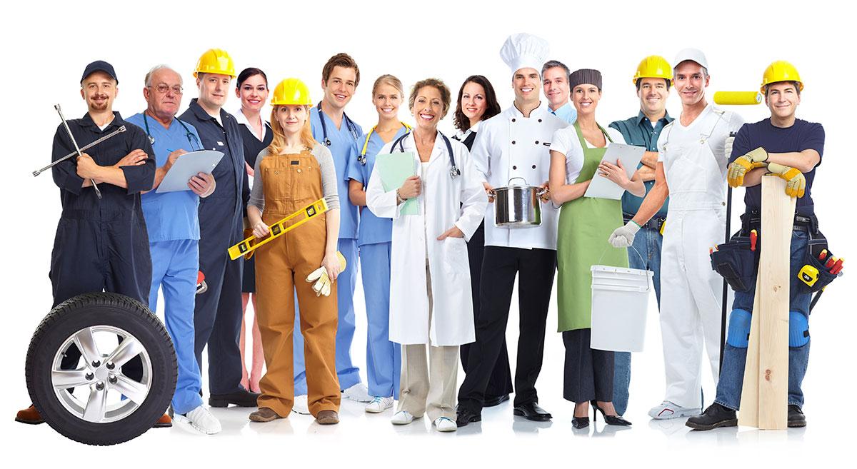 Nettoyeur JE Therrien les travailleurs vetements de travail pour hommes et femmes